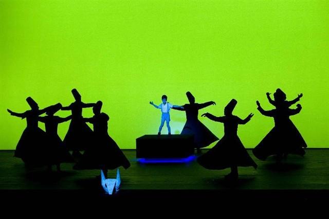 Expo Stand Egitto : Marco teatro opere scenografia eventi